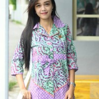 harga Blouse Batik Cap Garutan Asli Tokopedia.com