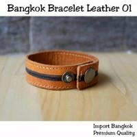 VZS00911 IMPORT Bangkok Bracelet Leather 01
