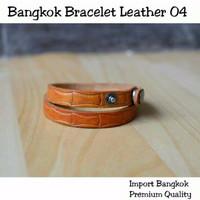 VZS00911 IMPORT Bangkok Bracelet Leather 04