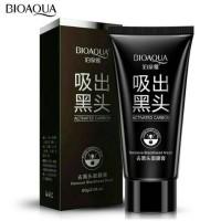 BioAqua Charcoal Mask/Black Mask/ Masker Arang.