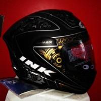 Murah!! Helm INK CL Max Full Face Fullface Black Doff Dop Solid