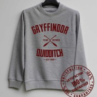 SWEATER / HOODIE / ZIPPER HARRY POTTER QUIDDITCH 01