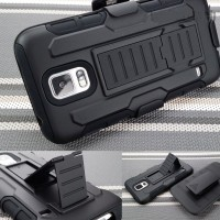 Samsung S5 Active Holster Case Future Armor casing bumper cover stand