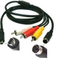 Kabel AV/R Sony VMC-15FS D Shape AV Camcorder Handycam