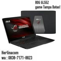 Jual ASUS ROG GL552VX-(KBL)DM409T /CORE i7-7700HQ/GTX 950-4GB/RAM 16GB Murah