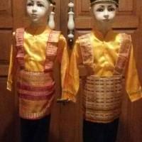 Jual Baju Adat Anak Aceh / tari saman ukuran M Murah