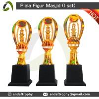 Piala/Trophy Figur Masjid 1 Set