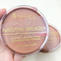 Rimmel London Natural Bronzer shade Sun Bronze