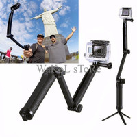 PALING DICARI 3 Way Monopod For Gopro Hero / Sjcam Sj4000 Sj5000 / Xia