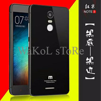 BEST SELLER XIAOMI REDMI NOTE 3 back cover backcase alumunium tempered