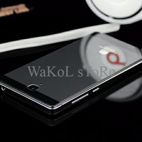 TER-HOT Casing aluminium back case cover alumunium tempered glass xiao