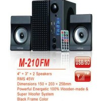 Promo Murah Speaker Aktif Advan M210FM + USB Diskon Toko Lampung