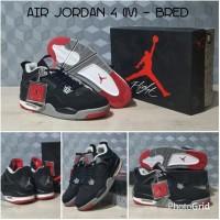 Jual Kelengkapan Olahraga Sepatu basket Nike Air Jordan IV AJ 4 'Bred'