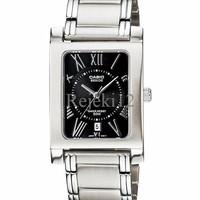 Jam tangan merek casio BEM100D-1A2V jam wanita elegan desain eropa ori