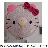 Jual SALE SARUNG KIPAS JARING HELLO KITTY / COVER KIPAS ANGIN Murah