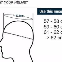Best Deal Helm KYT Super Moto Cross Double Visor Supermoto Hitam Kunin
