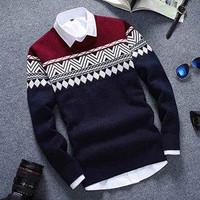 Jual Baju / Sweater Rajut Pria Colombus Navy Murah