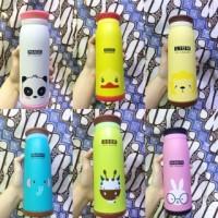 Jual Termos Air ANIMAL Karakter Botol Minum Anak Panas Dingin Tumbler Unik Murah