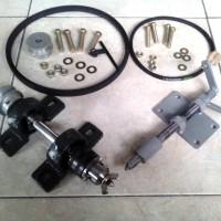 paket komponen mesin bubut kayu type 4/kerajinan tangan/sauvenir