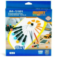 Jakemy Obeng 15 In 1 Smartphone Repair Tools Set - Jakemy JM-9101