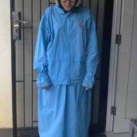 jas hujan rok she muslim mantel jaket muslimah