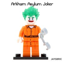 Lego Original Minifigure Joker Arkham Asylum Batman Movie Series