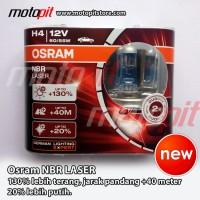 OSRAM NBR Night Breaker Laser H4 60/55 lebih terang 130%