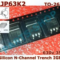 SMD RJP63K2 630v 35A Silicon N-Channel PDP Trench IGBT RJP 63K2 TO-263