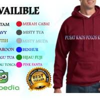 Jual Jaket Sweater Murah Hoodie Jumper Warna Merah Maroon Murah