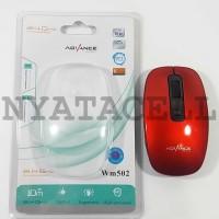 Mouse Wireless Advance WM 502 A Optical/USB For Laptop / Komputer Dll