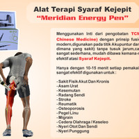 Alat Terapi Saraf Kejepit | Meridian Energy Pen| Akupuntur Pen