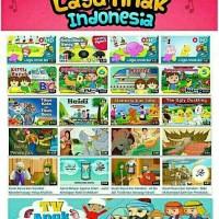 FLASHDISK 16GB FILM ANIMASI LAGU EDUKASI ANAK BAHASA INGGRIS INDONESIA