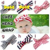 Headwrap Baby dan Balita Bayi Bandana Bando Tali Rambut Aksesoris