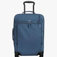 Koper TUMI Super Leger International 4 Wheel Carry On - Blue / Biru