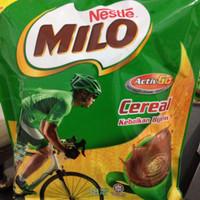 milo cereal activ-go 3 in 1 malaysia chocolate malt dan cereal 350g