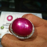 Jual Ruby Star BURMA BIG SIZE 84.13 ct Murah