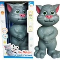 Talking tomcat besar asli bisa dongeng dan nyanyi / mainan kucing