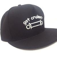 topi Snapback Got Cruiser Hitam