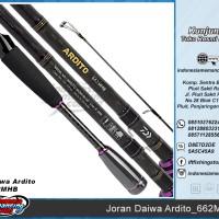 Joran Mancing DAIWA ARDITO 662MHB (Panjang 1.98M UTK Mancing CASTING)
