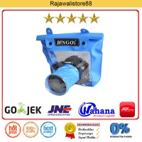 Bingo Waterproof Case For DSLR Camera -Blue - Fit Sony/Canon/Nikon