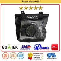 Bingo Waterproof Case For DSLR Camera - Hitam - Fit Canon/Nikon/Sony