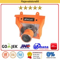 Bingo Waterproof Case For DSLR Camera - Orange - Fit Canon/Nikon/Sony