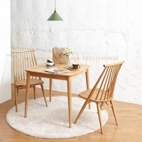 set kursi makan, kursi cafe retro japanese jati jepara