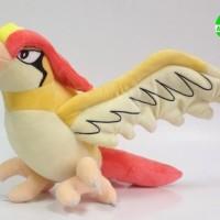 017 Boneka Shinny Pidgeotto 30 cm Boneka Pokemon