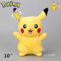 025 Boneka Pikachu 25cm Boneka Pikachu Nebukuro Sleeping
