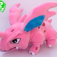 033 Boneka Nidorino 30cm Boneka Pokemon