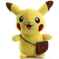 025 Boneka Pikachu 20cm Boneka Pikachu Nebukuro Sleeping