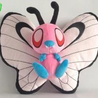 012 Boneka Shinny Butterfree 30 cm Boneka Pokemon