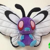012 Boneka Butterfree 30 cm Boneka Pokemon