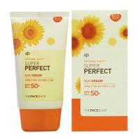 The Face Shop - Natural Sun Super Perfect Sun Cream SPF 50